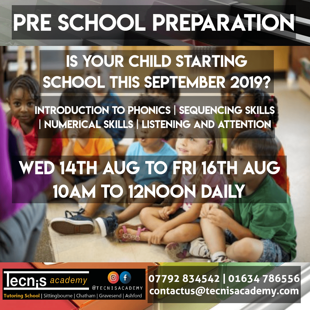 Pre School Preparation with Tecnis Academy